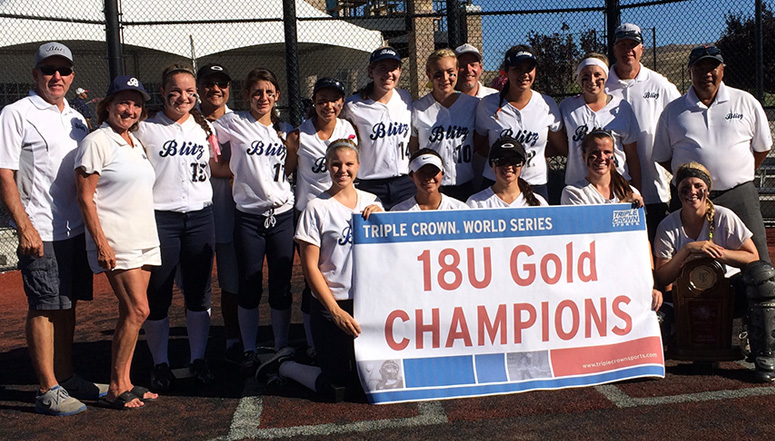 World Series, The NorCal Blitz finish 10-0 in Reno and win the 18U Gold World Series ... (final results)
