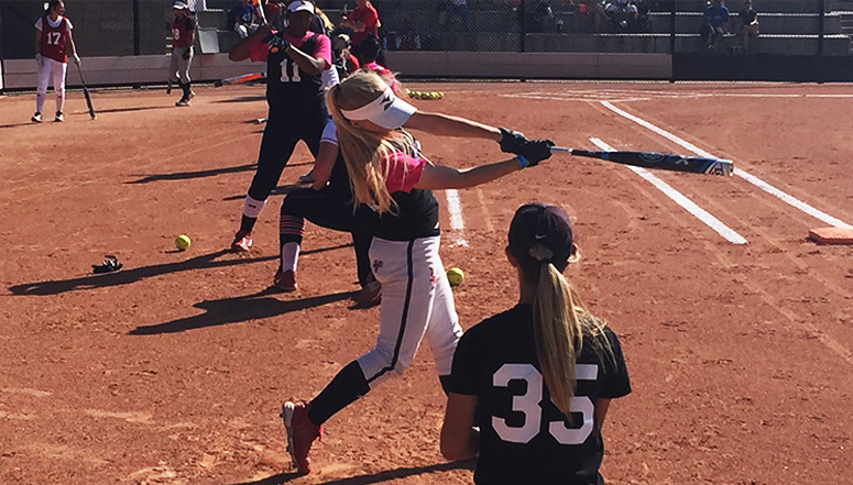 Get Recruited, Recruiting muscle on display by OnDeck Softball and TCS at CO Sparkler & Fireworks ... (read more)