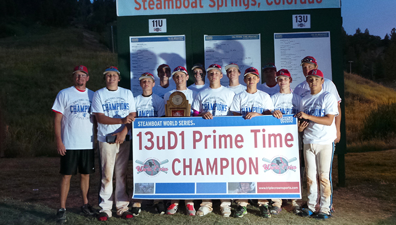 World Series Champions, Nebraska Naturals unflappable in 13u Prime Time World Series win in Steamboat Springs ... (read more)