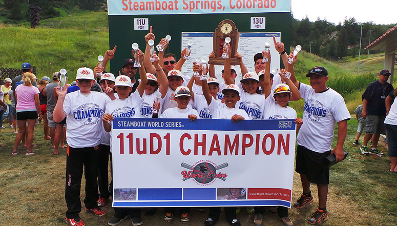 11u D1 Champions, Florida Stealth hold off Altitude Baseball to win 11u D1 TC World Series in Steamboat Springs ... (read more)