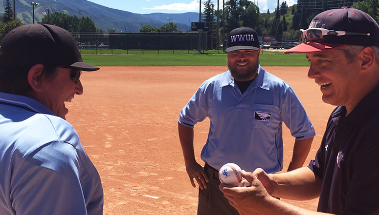 Wounded Warrior Umpires, Wounded Warrior umpire group work games during TC World Series in Steamboat Springs ... (read more)