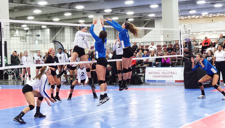 TC Volleyball Championships, National volleyball event draws top clubs and is televised on CBS SN ... (more info)